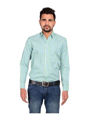 Riwas Collection R-110-Green Men Formal Shirt