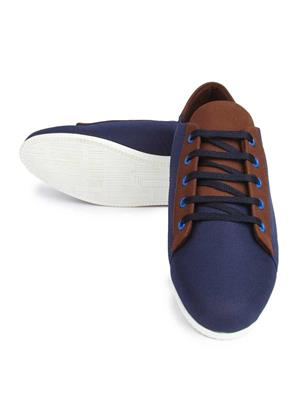 Series R3514-BLU-BRN MultiColor Men Sneaker Shoes