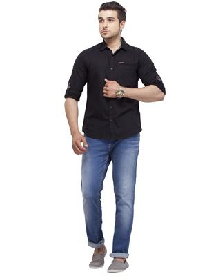 Spykar RANGER S14-50 Black Men Casual Shirt