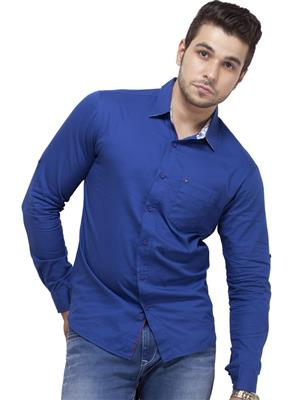 Spykar RANGER S15-25 Blue Men Casual Shirt