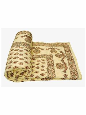 Rolycreation RCL2006 Cream Blanket and Quilt