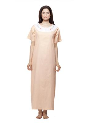Vedvid RD-PC  Peach Cotton Nighty