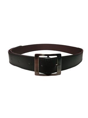 Ansh Fashion Wear REG-BLK-B Black Men Belt
