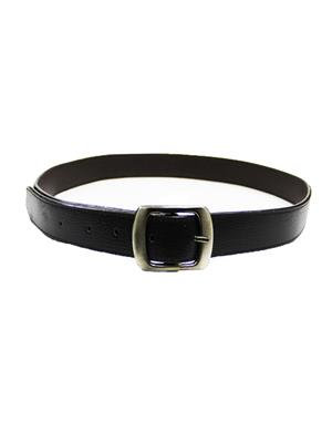 Ansh Fashion Wear REG-BLK-C Black Men Belt