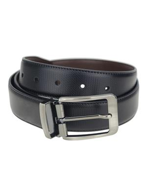 Ansh Fashion Wear REVERSE-BT-A Black Men Belt