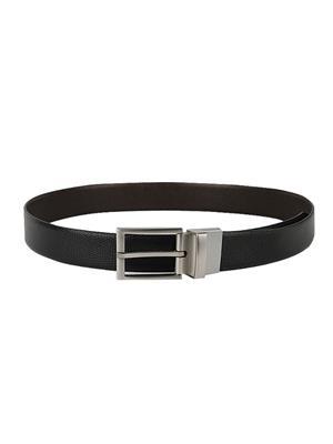 Ansh Fashion Wear REVERSE-BT-B Black Men Belt
