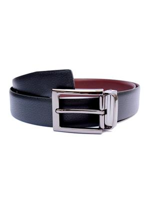 Ansh Fashion Wear REVERSE-BT-D Black Men Belt
