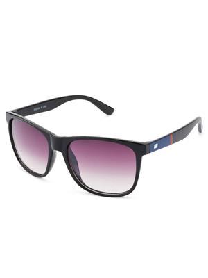 Rafa RF1281SBLKGRDGRY Black Unisex Wayfarer Sunglasses