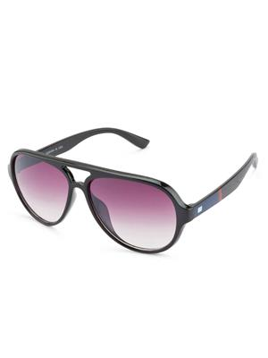 Rafa RF1282SBLKGDGRY Black Unisex Aviator Sunglasses