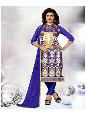 Rahi Fashion RF20031 Blue Women Salwar Suit