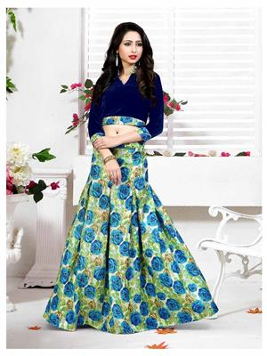 Rahi Fashion  RF20312 Multicolored Women Lehenga Choli