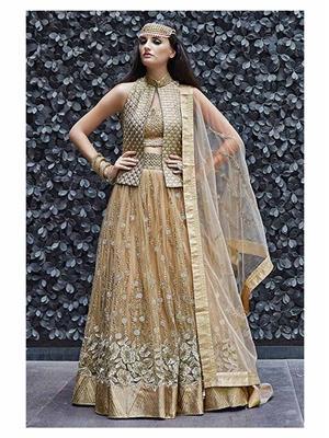 Rahi Fashion Rf20352 Golden Women Lehenga Choli