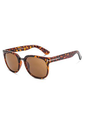 Rafa RF7070-DEMIBRN Brown Unisex Wayfarer Sunglasses