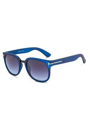 Rafa RF7070-RUBBLUGRY Blue Unisex Wayfarer Sunglasses