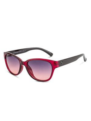 Rafa RF7229-REDBLK-GRDGRY Red Unisex Cateye Sunglasses