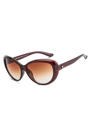 Rafa RF7231-BRNGRDBRN Brown Unisex Cateye Sunglasses