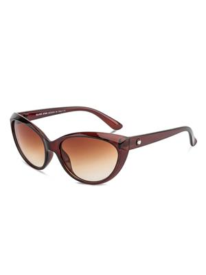 Rafa RF7232-BRNGRDBRN Brown Unisex Cateye Sunglasses