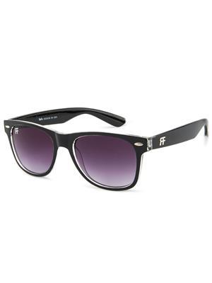 Rafa RF82231BLKCRYSTALGRADGREY Black Unisex Wayfarer Sunglasses