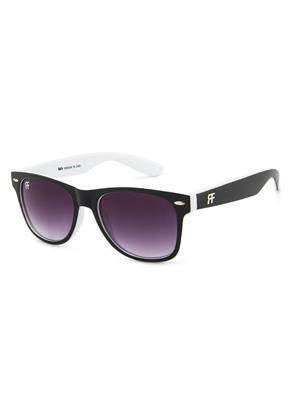 Rafa RF82231BLKWHITEWAYFARER Black Unisex Wayfarer Sunglasses