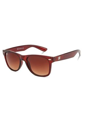 Rafa RF82231BRN Brown Unisex Wayfarer Sunglasses