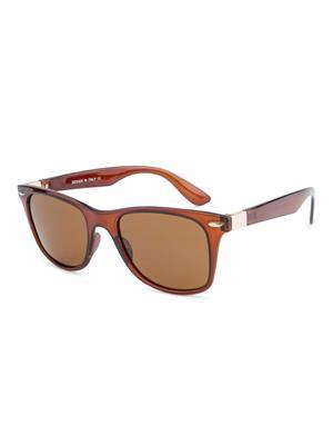 Rafa RF91511BROWN Brown Unisex Wayfarer Sunglasses
