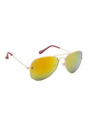 Rafa RFAVI3025GLDSMK Golden Unisex Aviator Sunglasses