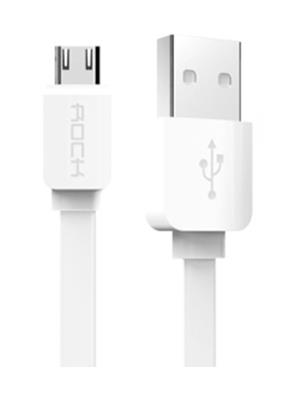 Rock White USB Cable