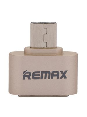 Remax Rmotg101 Gold Micro USB OTG Adapter