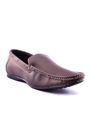 Calaso   1002 Brown Mens Loafers
