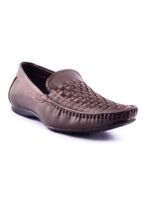 Calaso   1003 Brown Mens Loafers