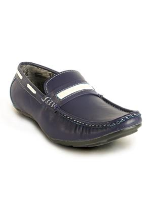 Calaso   202 Blue Mens Loafers