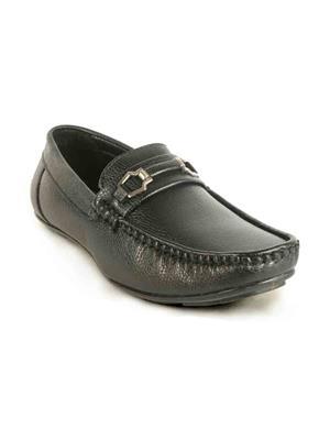 RN International RNICAL-2122 Black Men Loafers