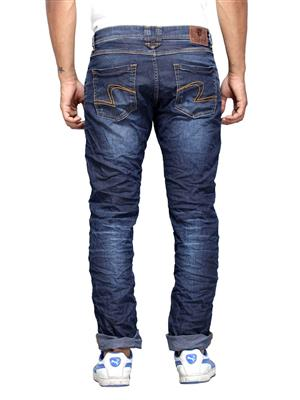 Spykar RO-S15-04 Blue Narrow Fit Men Jeans