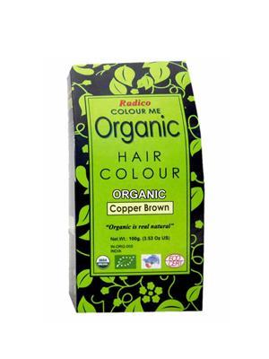 Radico  RO12 Color Me Organic Copper Brown Hair Color