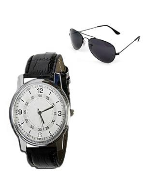 Ansh Fashion Wear RV-RIO-SNGLS  Watch With Sunglass
