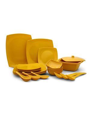 Roni Wares RW-01 Yellow Dinnerware & Crockery