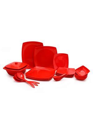 Roni Wares RW-03 Red Dinnerware & Crockery