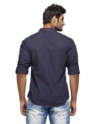 Spykar Ranger-S15-04 Blue Men Casual Shirt
