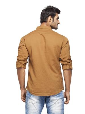 Spykar Ranger-S15-23 Brown Men Casual Shirt