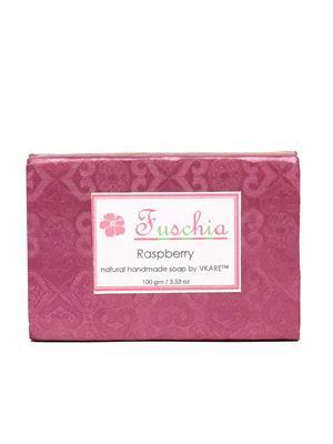 Fuschia Raspberry Natural Handmade Glycerine Soap