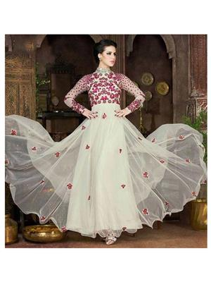 Rahi Fashion Rf20153 White Women Gown