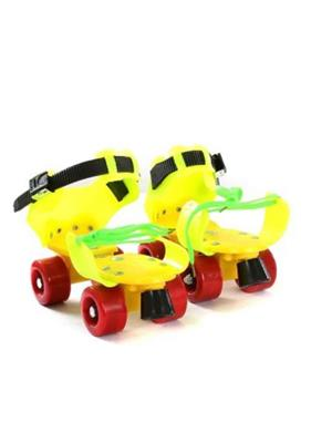 Rahul Roller Dry Plastic & Steel Skates for Boy- Girl