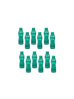 Intra Plasto Rose Blue Pink 1000ml Plastic Bottle set of 12