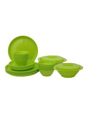 Incrizma Round Green Dinner Set