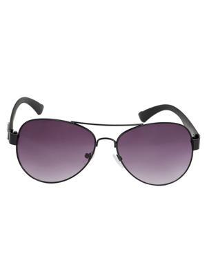 Adine  Rr650-Black-Purple Wayfarer Sunglasses
