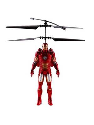 Shagun Fibres  S-11  Red Super Men  Battery Operated Iron Man