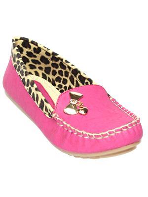 Schtaron S0018 Pink Women Loafer