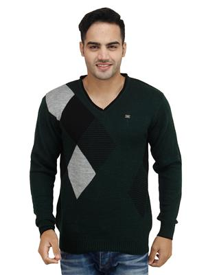Duke S2441 Green Men Sweater