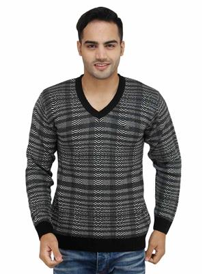 Duke S6264 Black Men Sweater