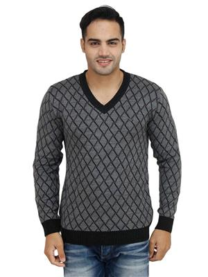 Duke S6266 Grey Men Sweater